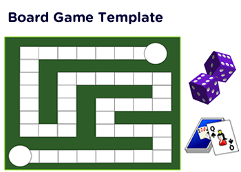 social studies board games pdf printables with template