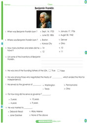 2nd grade social studies Worksheets pdf