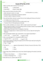4th grade social studies Worksheets pdf