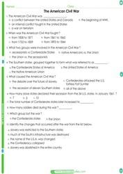 5th grade social studies Worksheets pdf